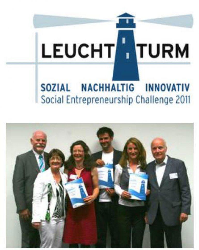 2011 – Preis beim Social Entrepreneurship Challenge LEUCHTTURM